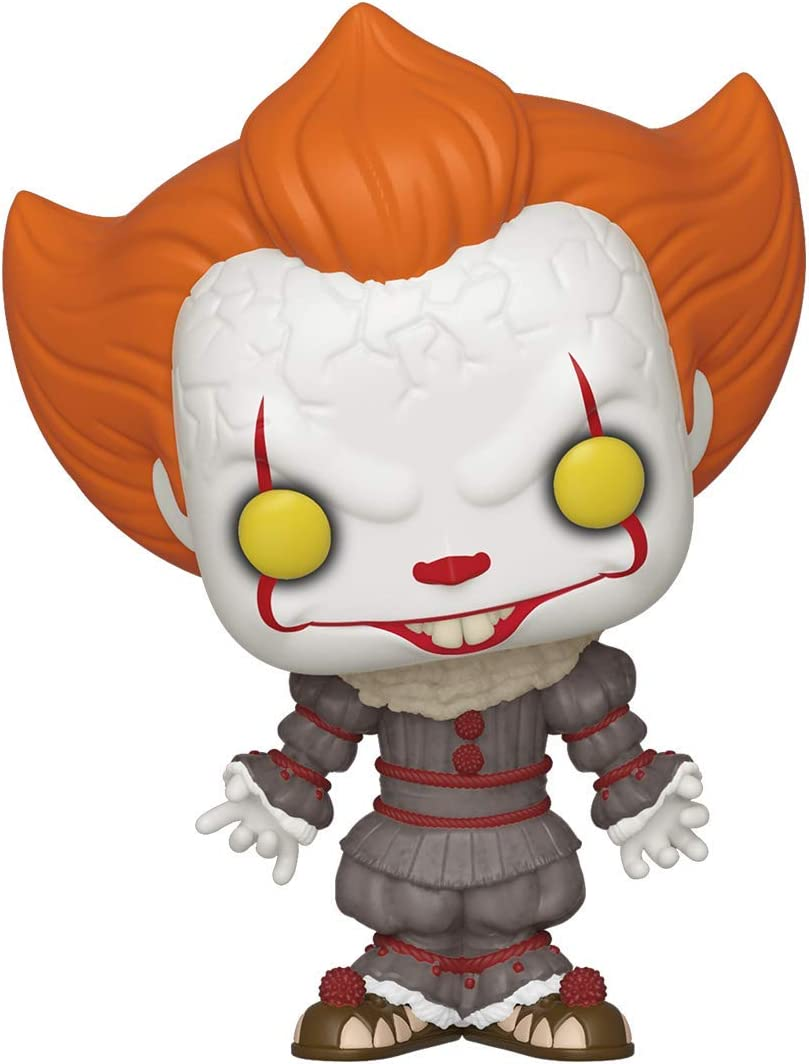 Funko- Pop Vinyl: Movies: IT: Chapter 2-Pennywise w/Open Arms Figura Coleccionable, Multicolor (40627)