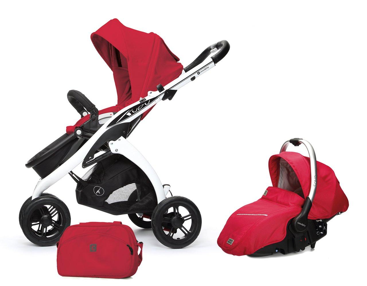 Casualplay Match 2 Kudu 3 - Silla + bolso + Sono, color rojo: Amazon.es: Bebé