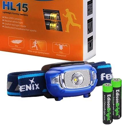 Fenix HL15 DEL Running Head Torch 200 lm