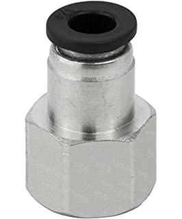 Male Straight Pack of 10 PneumaticPlus PC-5//16-N1 Push to Connect Tube Fitting 5//16 Tube OD x 1//8 NPT Thread