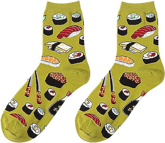 calcetines con forma de maki