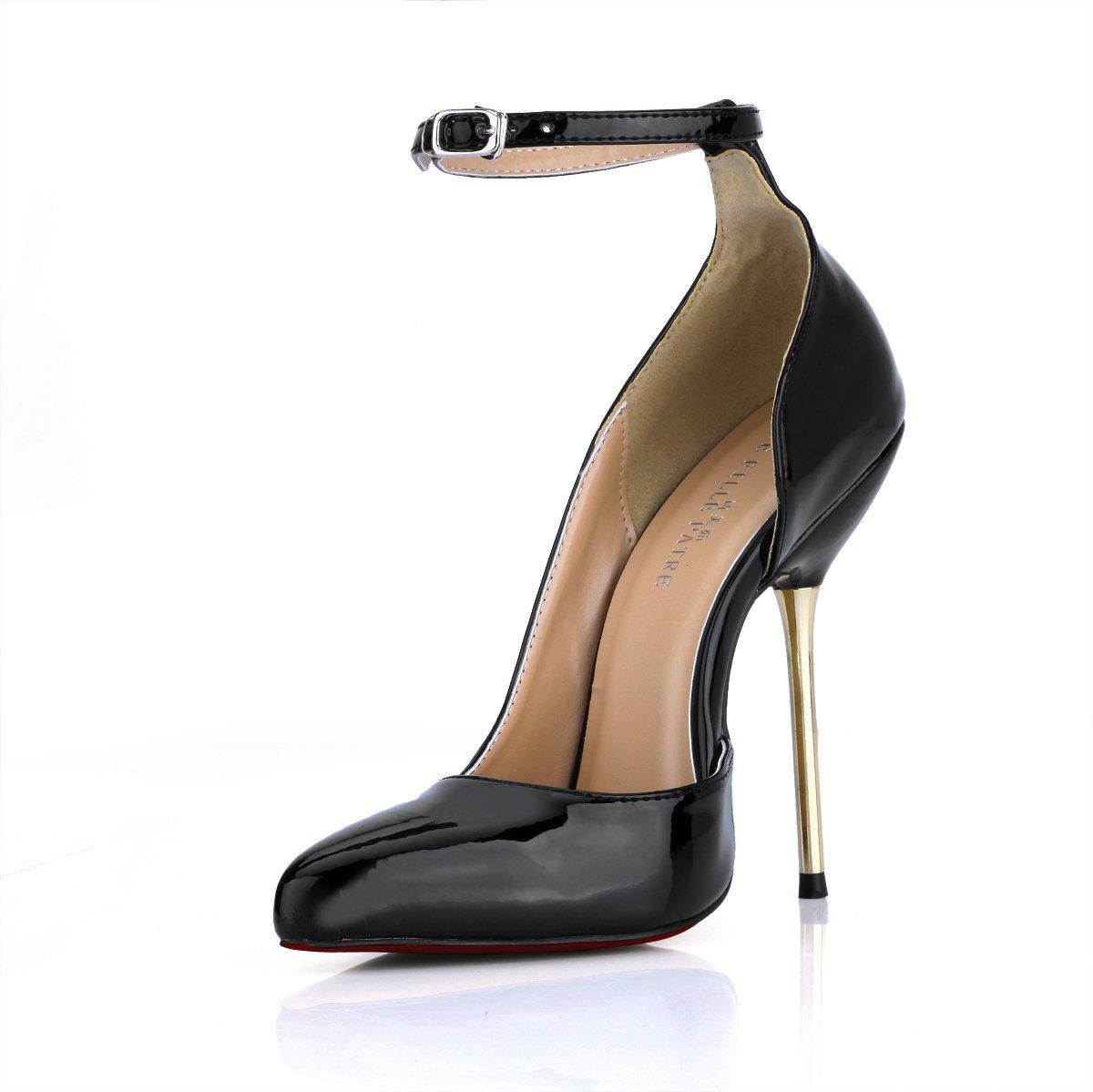 Frauen Schuhe Temperament und Feder neu schwarz lackiert Leder hingewiesen hingewiesen hingewiesen - toe high-heel Schuhe und sexy Abendessen auf rotem Grund Schuhe B0757LX2GW Tanzschuhe Keine Begrenzung zu üben dc8e47