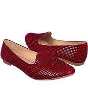 STYLO Zapatos 1905 Suede Rojo