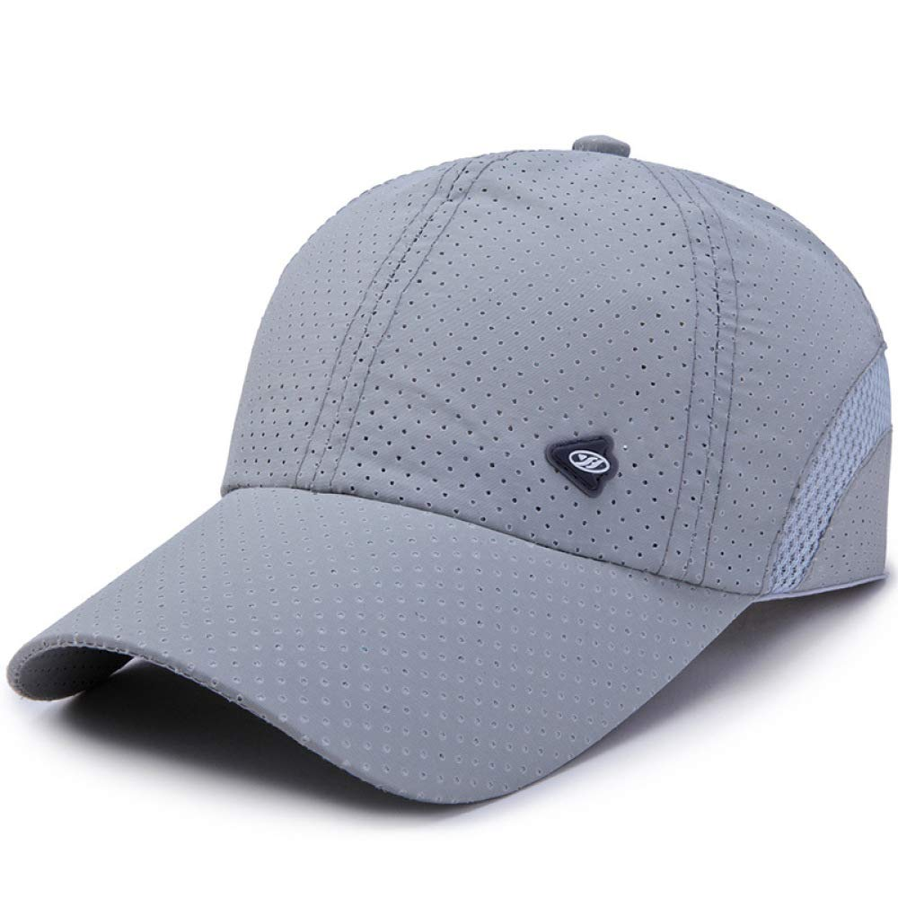 kyprx Gorra Transpirable de Secado rápido Macho 1-4 Gris: Amazon ...