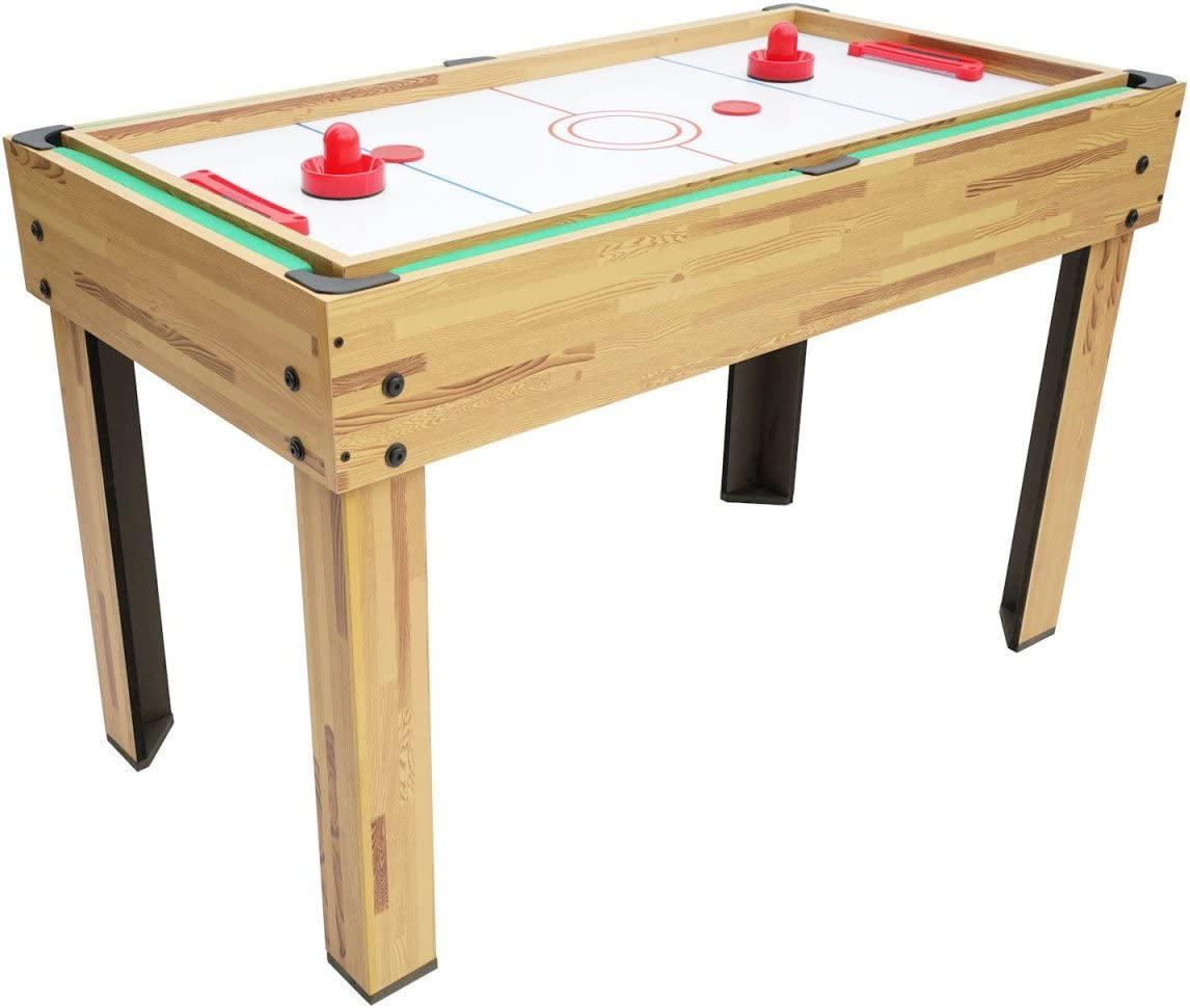 Mesa de Juegos 10 en 1, billar, futbolín, ping pong: Amazon.es ...