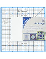 June Tailor JT743 8-1/2-Inch Outer 4-1/2-Inch Inner Get Squared Ruler