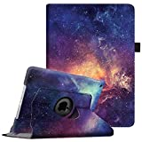 "Fintie iPad 9.7 inch 2018/2017 / iPad Air Case - 360 Degree Rotating Stand Protective Cover with Auto Sleep Wake for Apple iPad 9.7"" (6th Gen, 5th Gen) / iPad Air 2013 Model, Galaxy"