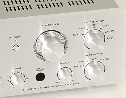 Teac a H300 MK III Amplificador: Amazon.es: Electrónica
