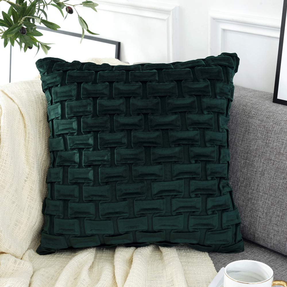 Mao ZE QU Dutch Cashmere Wrinkle Pillow Cushion seat Pillow Lumbar Cushion Korean Sofa Back Cushion Living Room Home Bedroom by Sofa pillow