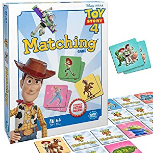 Wonder Forge Disney Pixar Toy Story 4 Matching Game For Girls & Boys Age 3 to 5 – A Fun and Fast Disney Memory Game