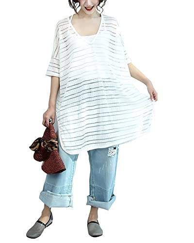 Diboshi - Camisas - Básico - Cuello redondo - para mujer