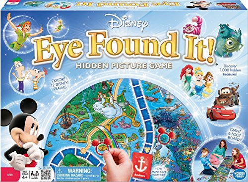- Disney Eye Found It Observation Game