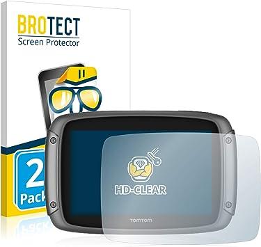 BROTECT Protector Pantalla Compatible con Tomtom Rider 500/550 ...