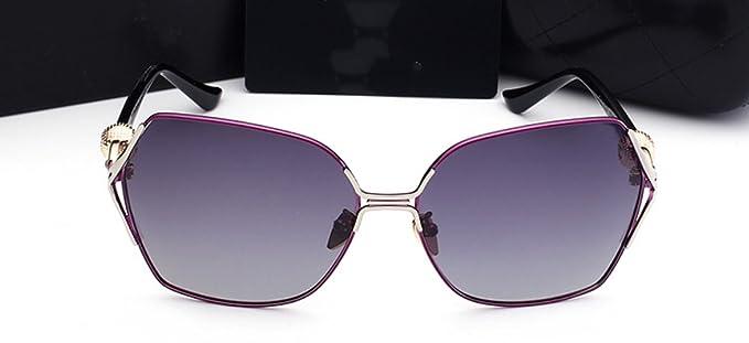 Gafas De Sol Polarizadas Para Hombre Gafas De Sol Retro Para Conducir ,Purple-OneSize