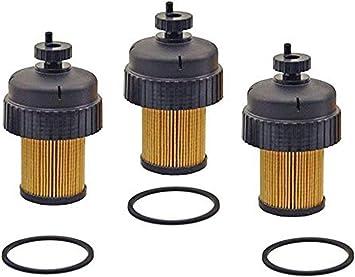 Duramax Fuel Filter >> Chevrolet Gmc 6 5l Duramax Diesel Fuel Filter And Cap 3 Pc Kit Ref 10154635