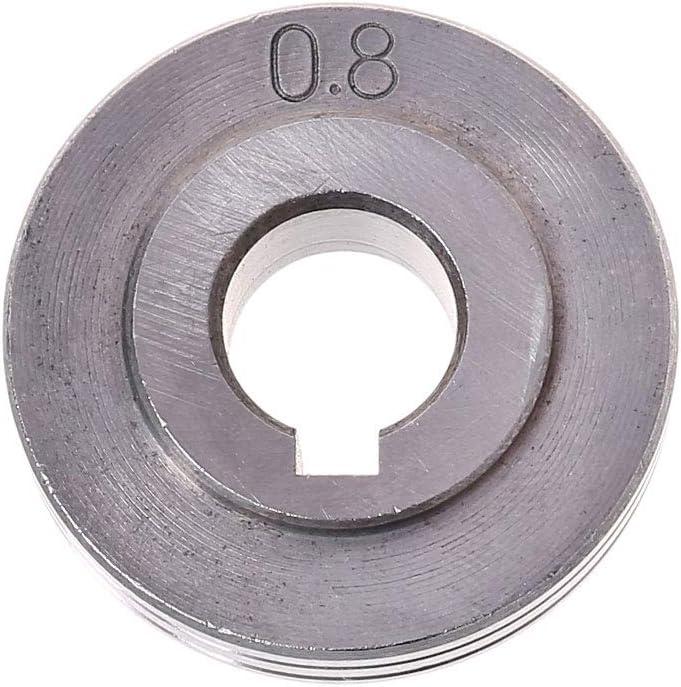 BIlinli Pi/èces de Petit Pain de Rouleau dentra/înement dentra/înement de Fil de soudeuse pour la Machine-Outil de Soudure de Mig 0.8-1.0