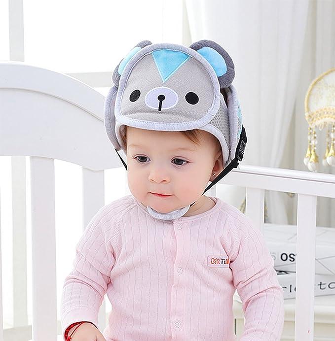 Hillento Casco de Seguridad del bebé 8704ce93255