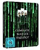 The Matrix Trilogy Blu-ray Steelbook Region Free German Import (English language)