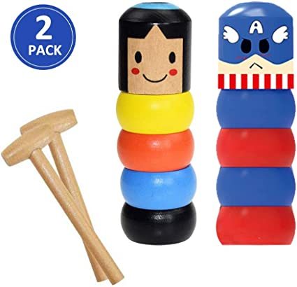 50/% OFF ONLY TODAY Unbreakable wooden Man Magic Toy