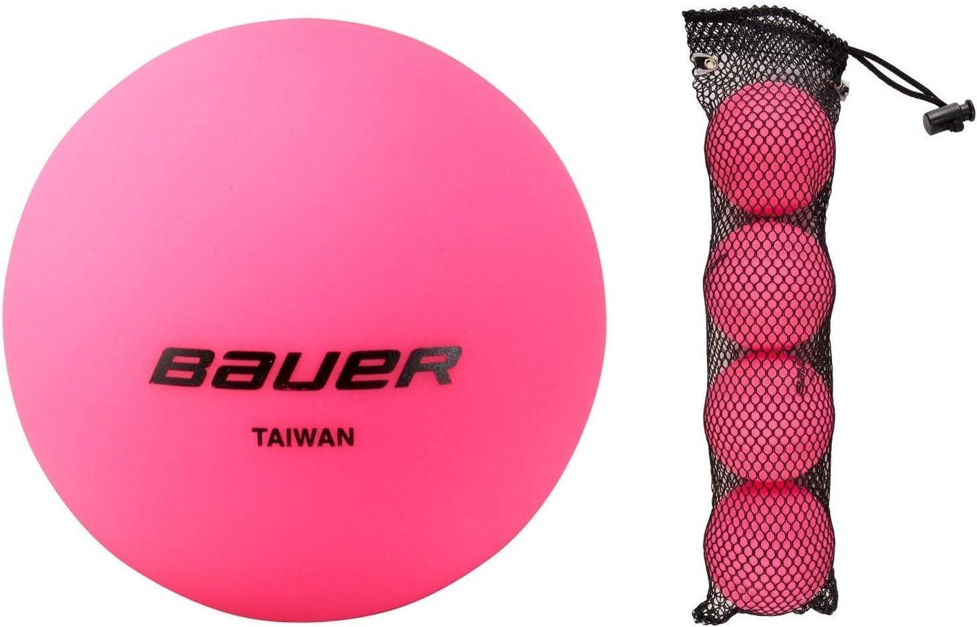 Bauer Cool Rosa Pelota de Hockey (Pack de 4): Amazon.es: Deportes ...