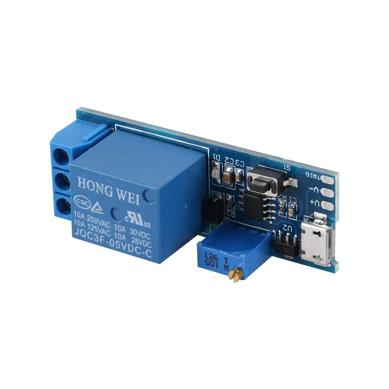 TOOGOO(R) Wide voltage 5V-30V trigger delay relay module, timer module, time delay switch by TOOGOO(R) (Image #5)