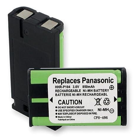 cordless phone battery for panasonic kx tg5439 1 pc general use rh amazon com