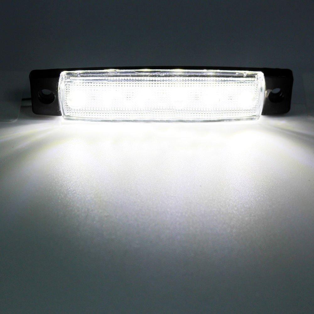 PolarLander 30Pcs 24V 6LED Seitenmarkierungs-Anzeigen Lichter-Lampe ...