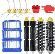 Decdeal 13pcs Kit de acessórios de substituição para o iRobot Roomba série 600 690 691 694 650 651 664 615 601