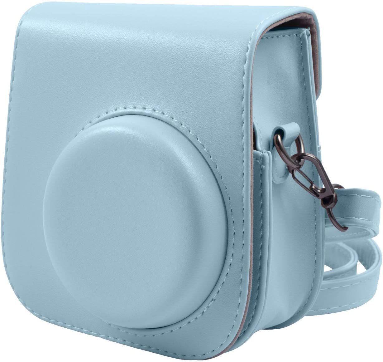 Camera Case for Fujifilm Instax Mini 11 Instant Camera Annle PU Leather Protective Case with Removable Strap Starry Sky