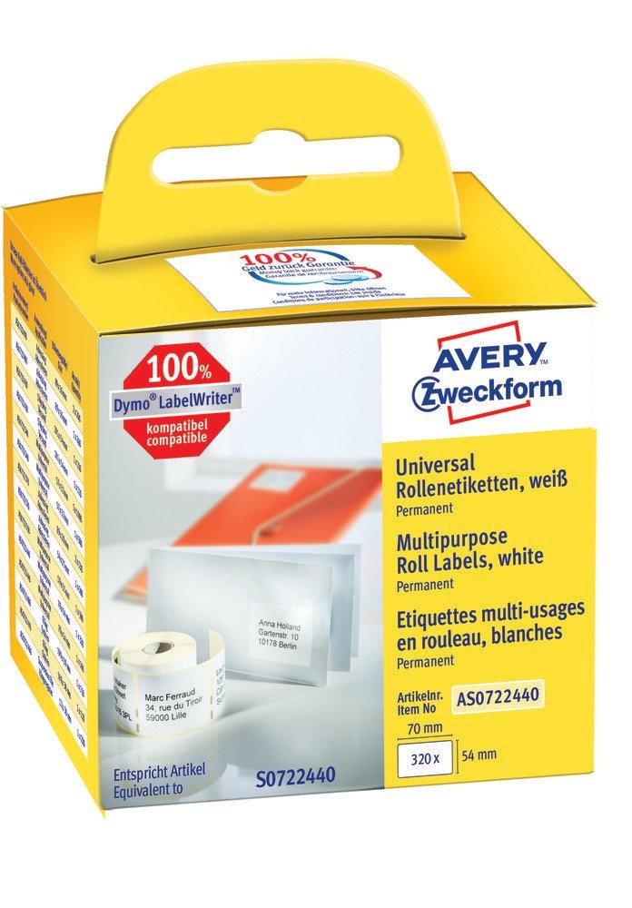 Avery Italia AS0722440 Etichetta in Rotolo
