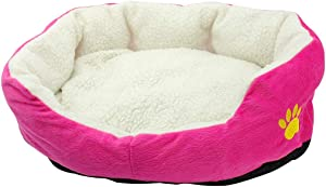 Pet Dog Bed,Cotton Soft Pet Mat House Mattress,Winter Warm Dog Sofa Nest Home Blanket for Small Pets Puppy Cats