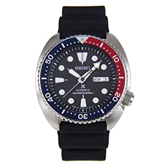 f4f48b85277 Image Unavailable. Image not available for. Color  Seiko Prospex Mens  Turtle Divers Automatic Watch