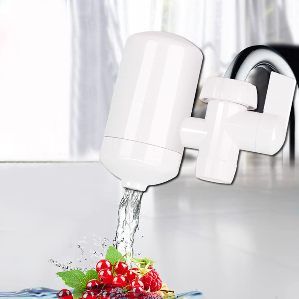 Filtro de agua grifo, Sayou® grifo filtro para grifo de agua purificador de agua filtro de purificación de agua dispositivo para baño y cocina (Filtro de agua): Amazon.es: Hogar