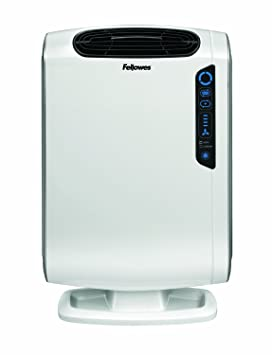 Fellowes AeraMax DX55 - Purificador de aire (Color blanco, 33 cm, 16.9 cm