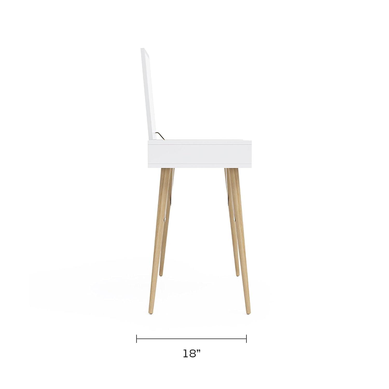Jamesdar JBTAB479-SA Blythe Vanity Table White