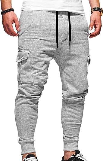 Hombre Casual Joggers Chándal Deportes Pantalones Holgados Dance ...
