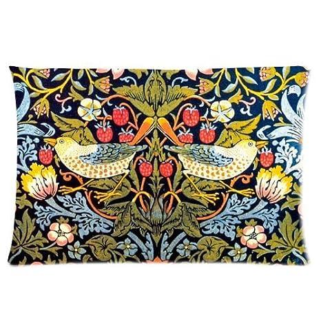 Amazon.com: William Morris One Side rectángulo Funda de ...