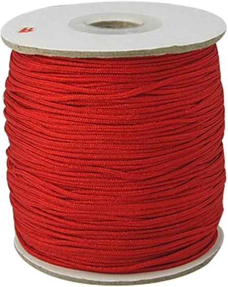 Blush Ben Collection 2mm X 100 Yard Rattail Satin Nylon Trim Cord Chinese Knot