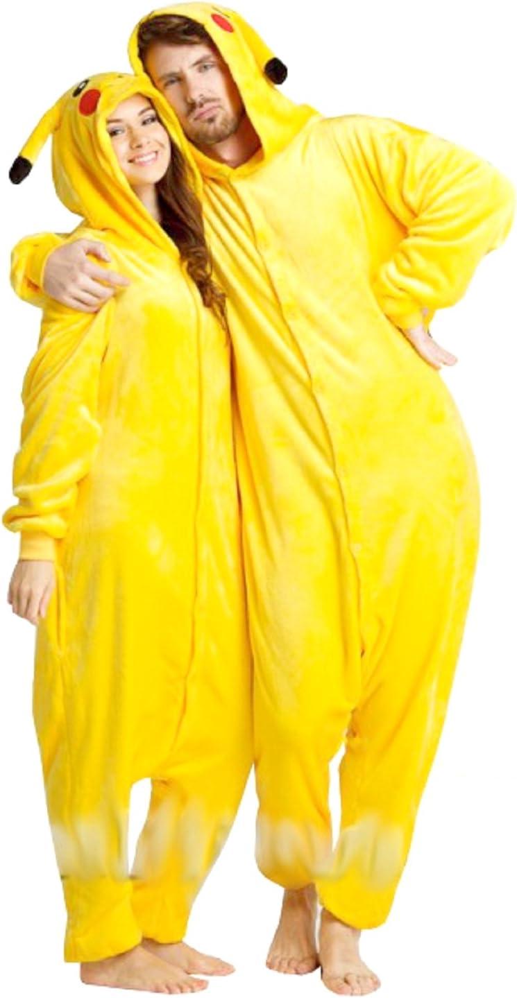 Carnaval de Halloween traje de los pijamas de Pokemon Pikachu ...