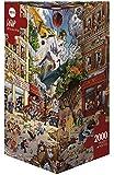 Heye - Heye-29577 - Puzzle Classique - Apocalypse - Loup - 2000 Pièces
