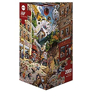Heye Puzzle Triangolare Jean Jaques Loup Apocalisse 2000 Pezzi Vd 29577