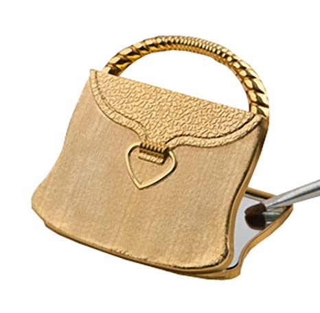 fashioncraft wedding party bridal shower favors gold purse compact mirrors elegant reflections collection