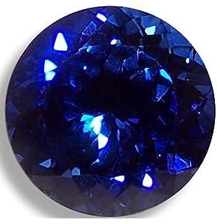 Amazon com: Blue Synthetic Sapphire Loose Unset Gemstone