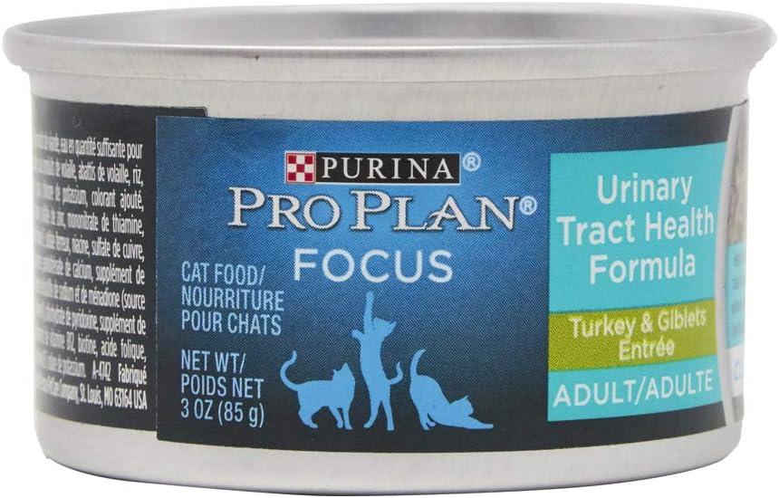 American Distribution Purina Pro Plan Turkey Cat Food, 3 oz, Brown