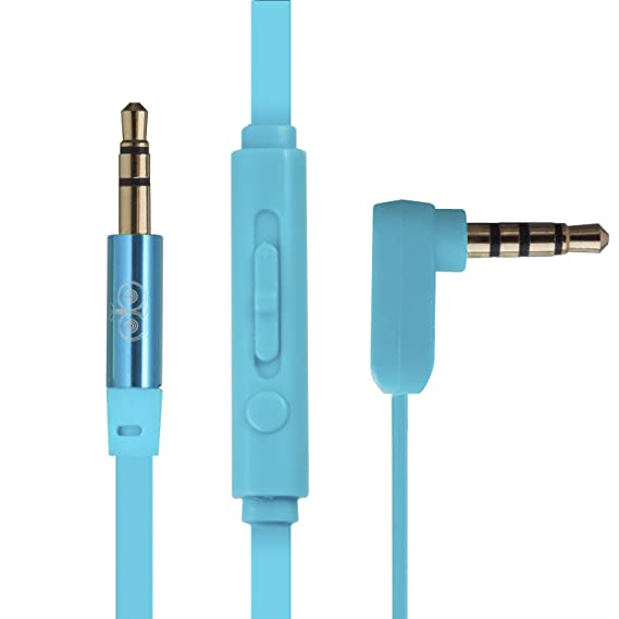 Amazon.com: Jabees 3.5mm Aux Audio Cable to Connect Headphones ...