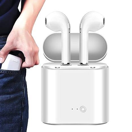 Auriculares Inalambricos Bluetooth Twins I7s TWS Auricular inalámbrico Auricular intrauditivo Auricular con Estuche de Carga para