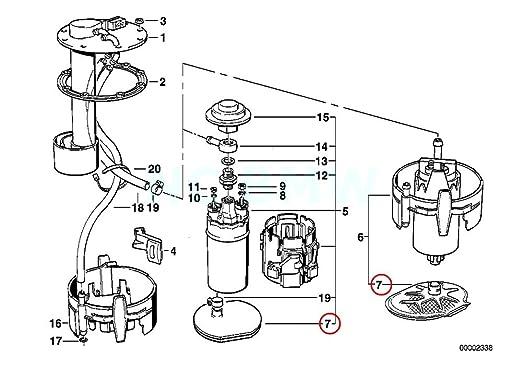 amazon bmw 16 14 1 179 500 fuel pump strainer automotive BMW E60 M5 Blue