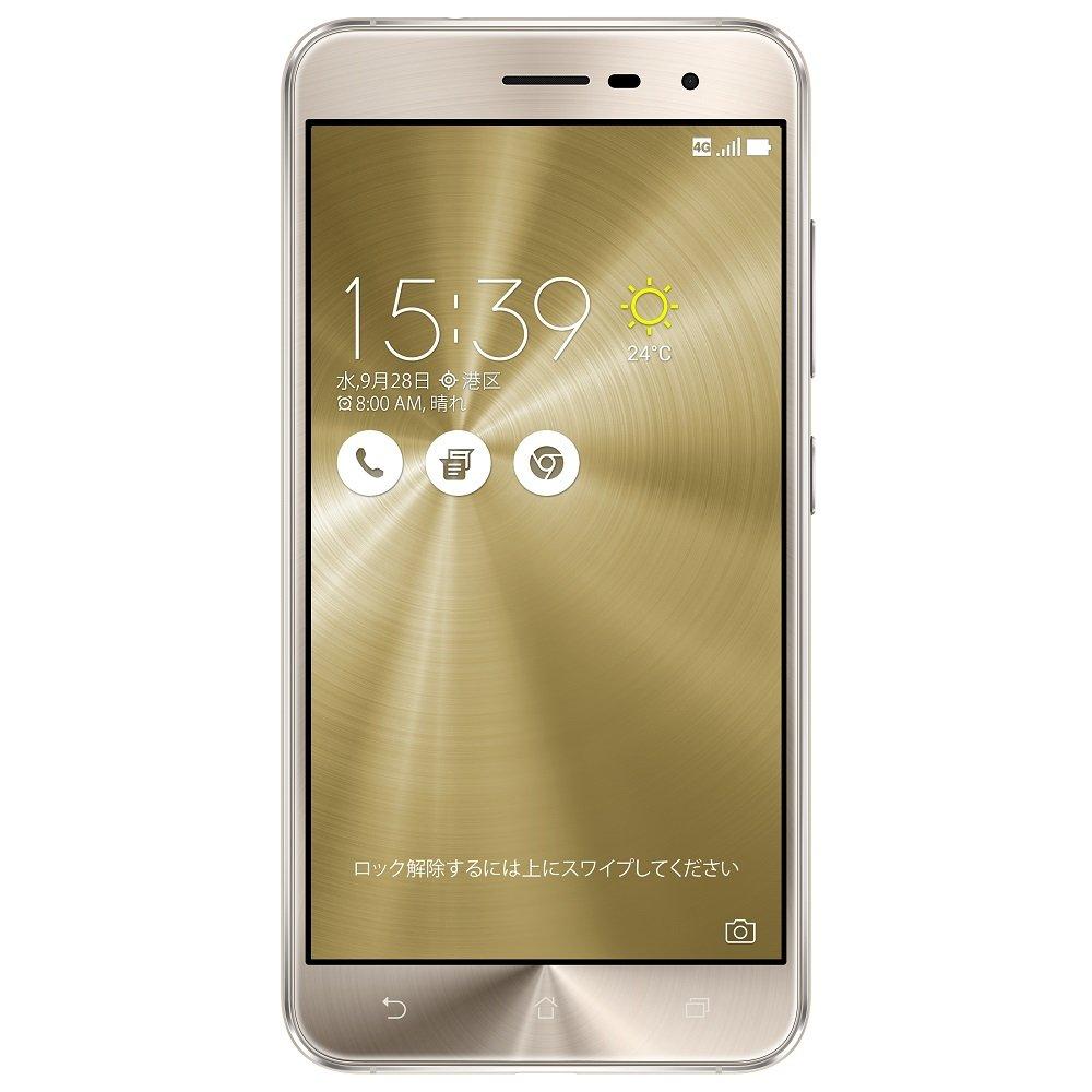 ASUS ZenFone3 SIMフリースマートフォン (ゴールド/5.2インチ)【日本正規代理店品】(オクタコアCPU/3GB/32GB/DSDS & au VoLTE対応)ZE520KL-GD32S3/Aほか家電&カメラ, が勢ぞろい。ランキング、レビューも充実。アマゾンなら最短当日配送。