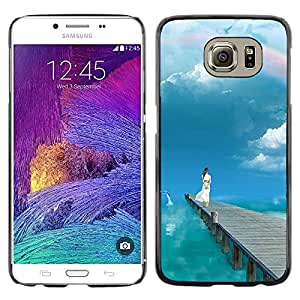 iKiki Tech / Estuche rígido - Nature Beautiful Forrest Green 5 - Samsung Galaxy S6 SM-G920