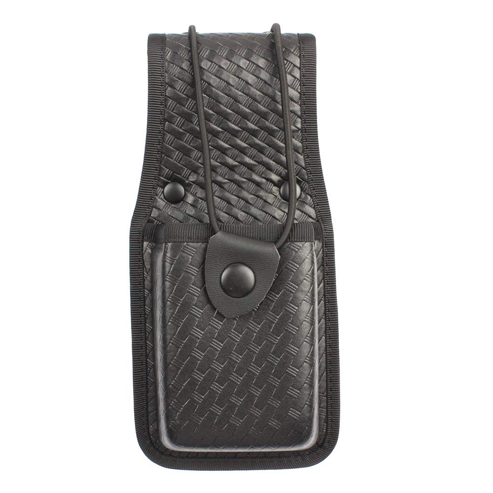 LytHarvest Outdoor HHR Radio Pouch, Basketweave Radio Holder for Duty Belt